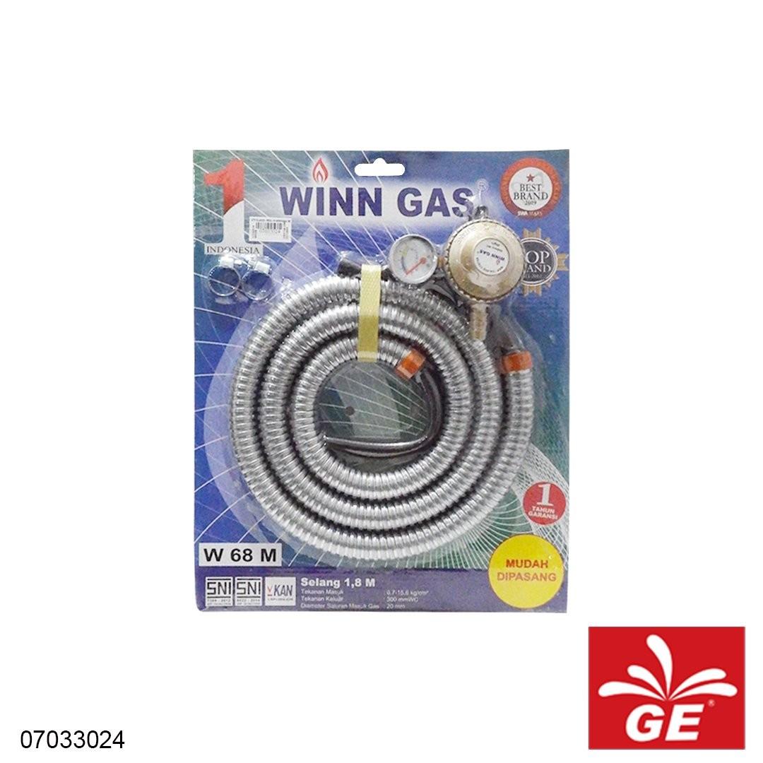 Regulator & Selang Gas WINN GAS W68 M 07033024