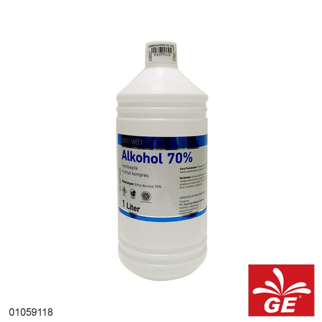 Antiseptik Alkohol ONE MED Untuk Kompres 01059118