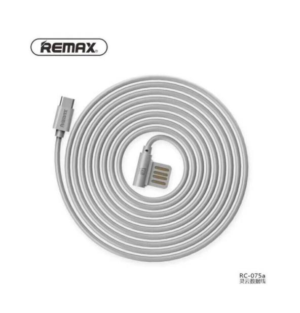 Kabel Data REMAX RAYEN RC-075a Type-C 1M Putih 40001054