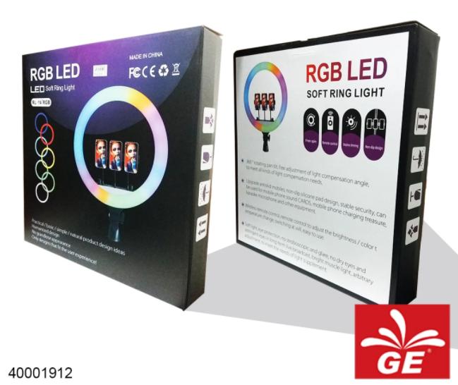 "Lampu LED RL-14"" RGB Soft Ring Light 36cm 40001912"