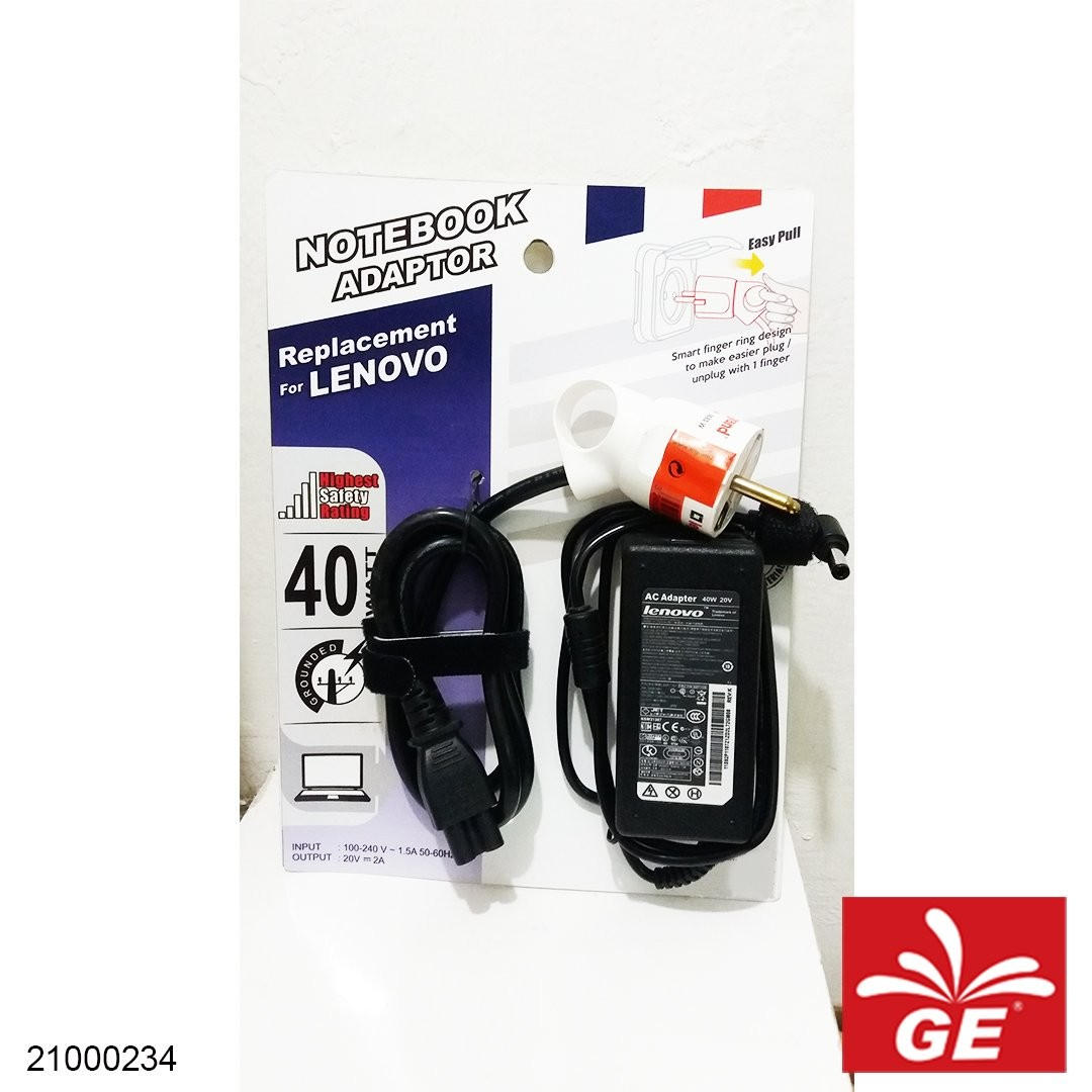 Adapter Notebook LENOVO PA-1900-081 + Steker LEGRAND 050190