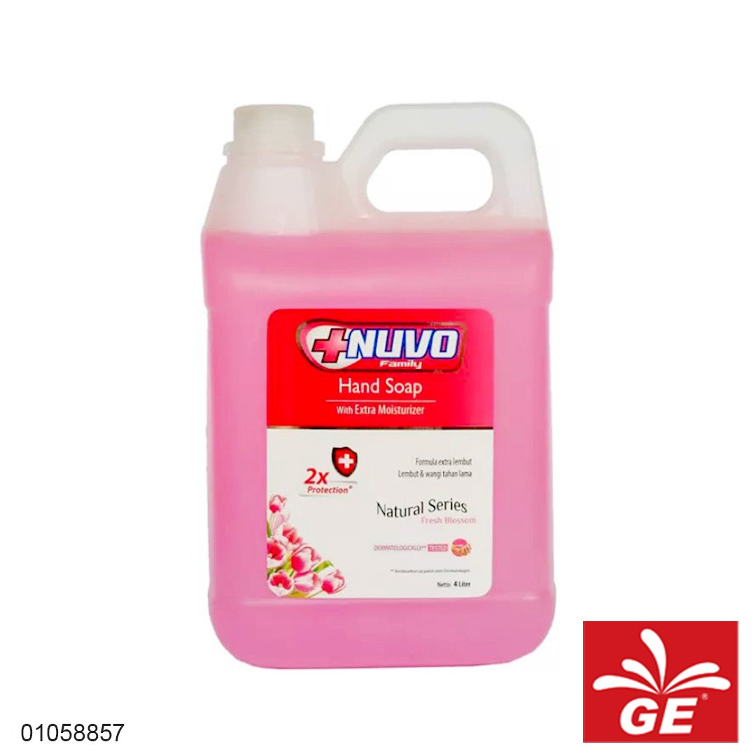 Sabun Cuci Tangan NUVO Fresh Blossom 4L 01058857