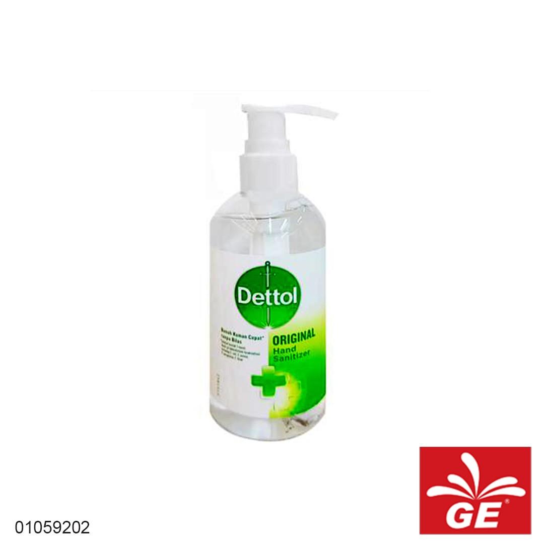 Hand Sanitizer Pump DETTOL Original 200ml Gel 01059202