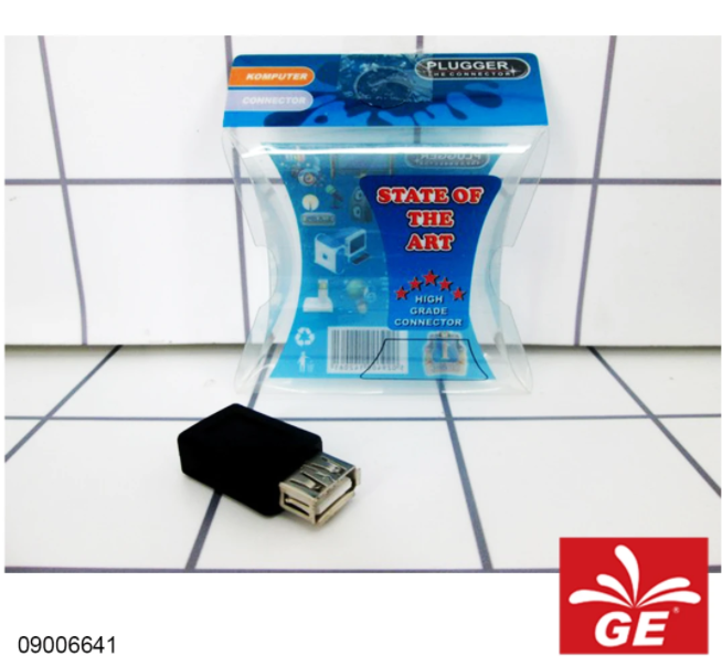 Adapter Connector USB 2.0 Female to Mini 5 Pin 09006641