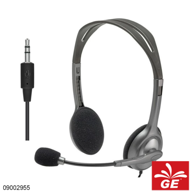Headset Stereo LOGITECH H110 09002955