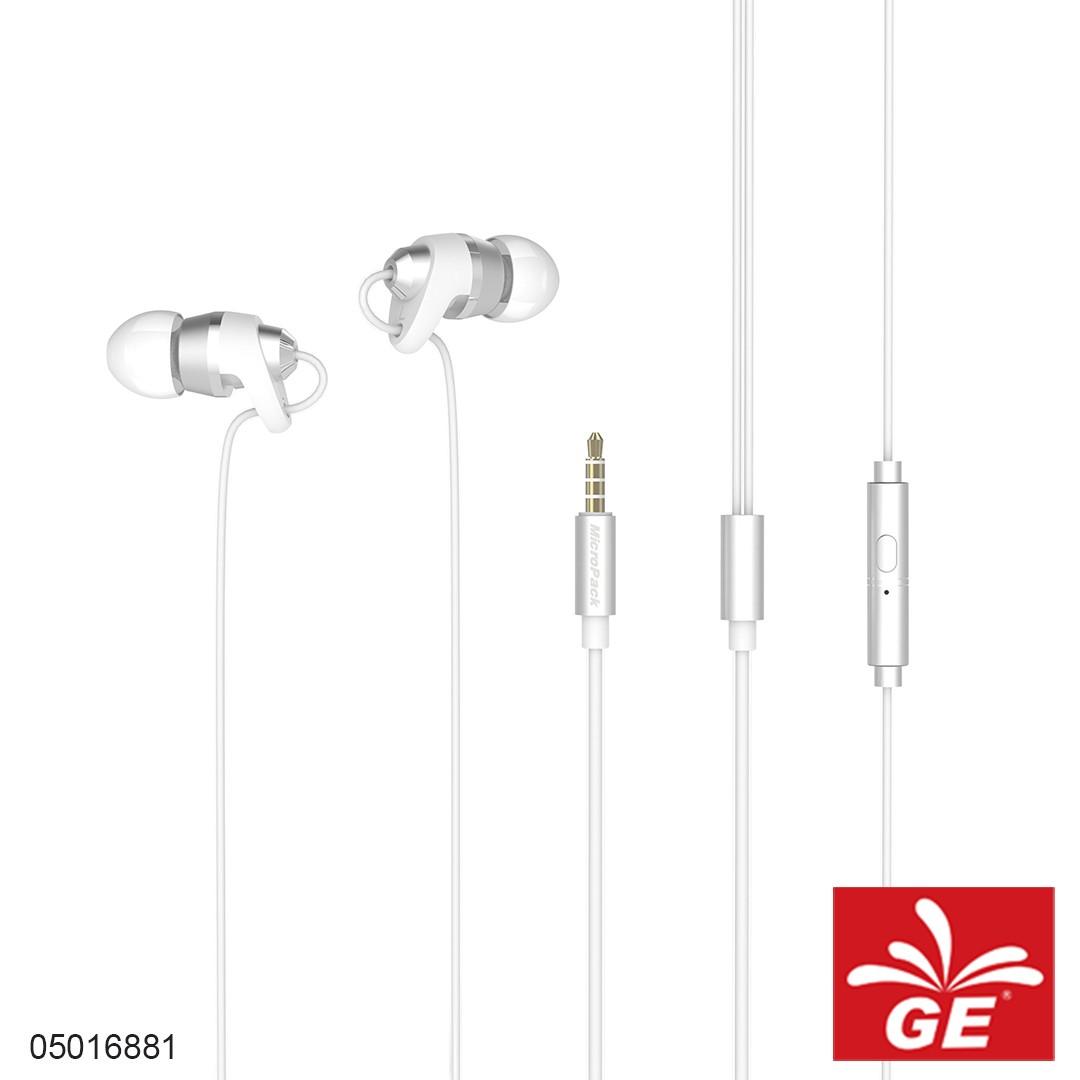 Earphone MICROPACK EM-300 Silver 05016881