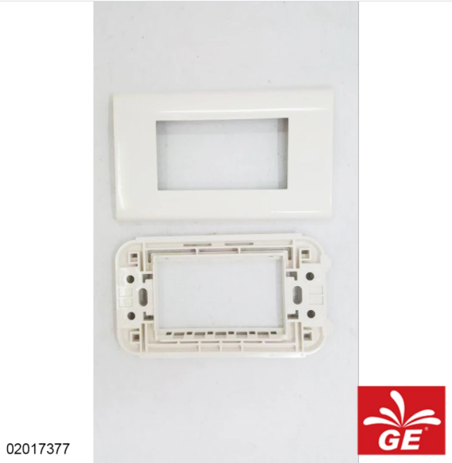 Plate Saklar PANASONIC WEHJ6803W 1 Gang 3 Devices 02017377