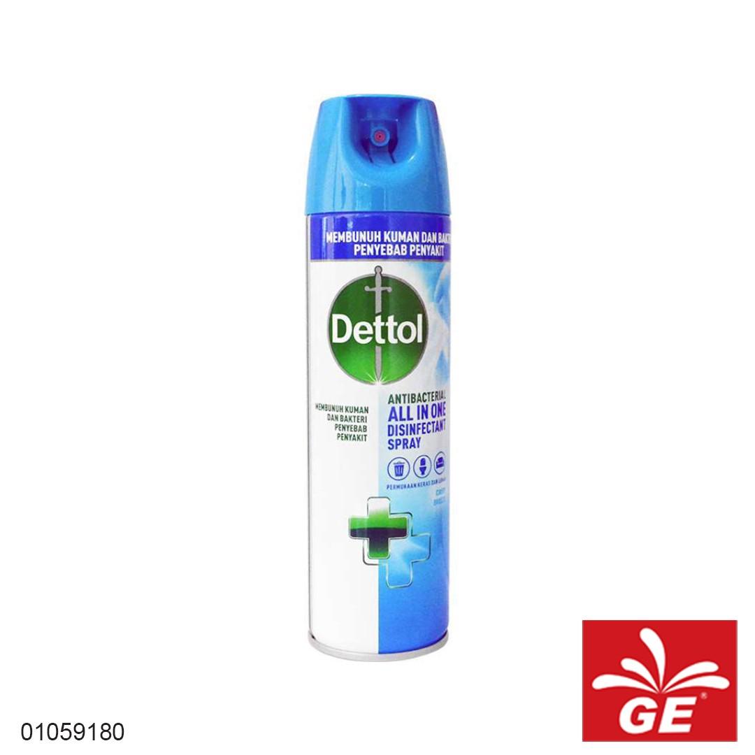 Disinfektan Spray DETTOL Anti BacterialCrisp Breeze450ml 01059180