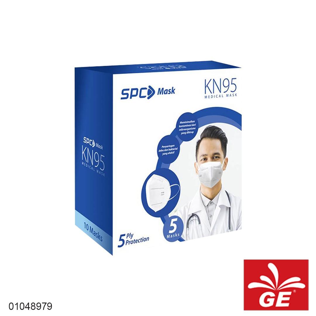 Masker 5ply SPC MASK KN95 Earloop 10pcs 01048979