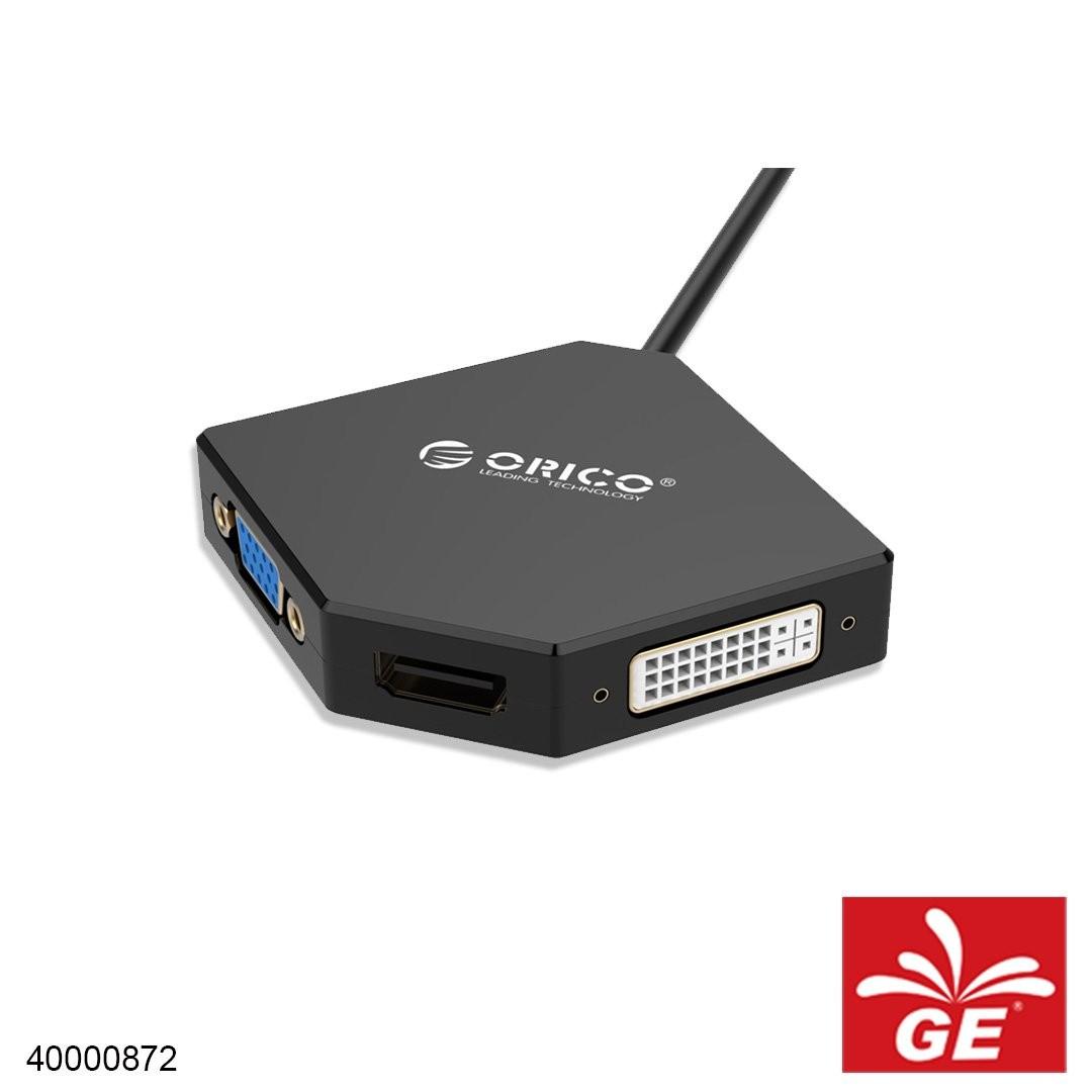 Kabel Koneksi ORICO DPT-HDV3-BK Smart Connectivity Cable 40000872