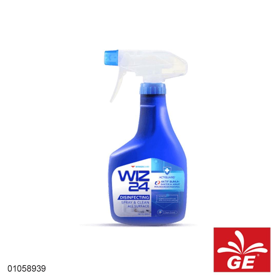 Disinfektan Spray WIZ24 Clean Scent 450ml 01058939