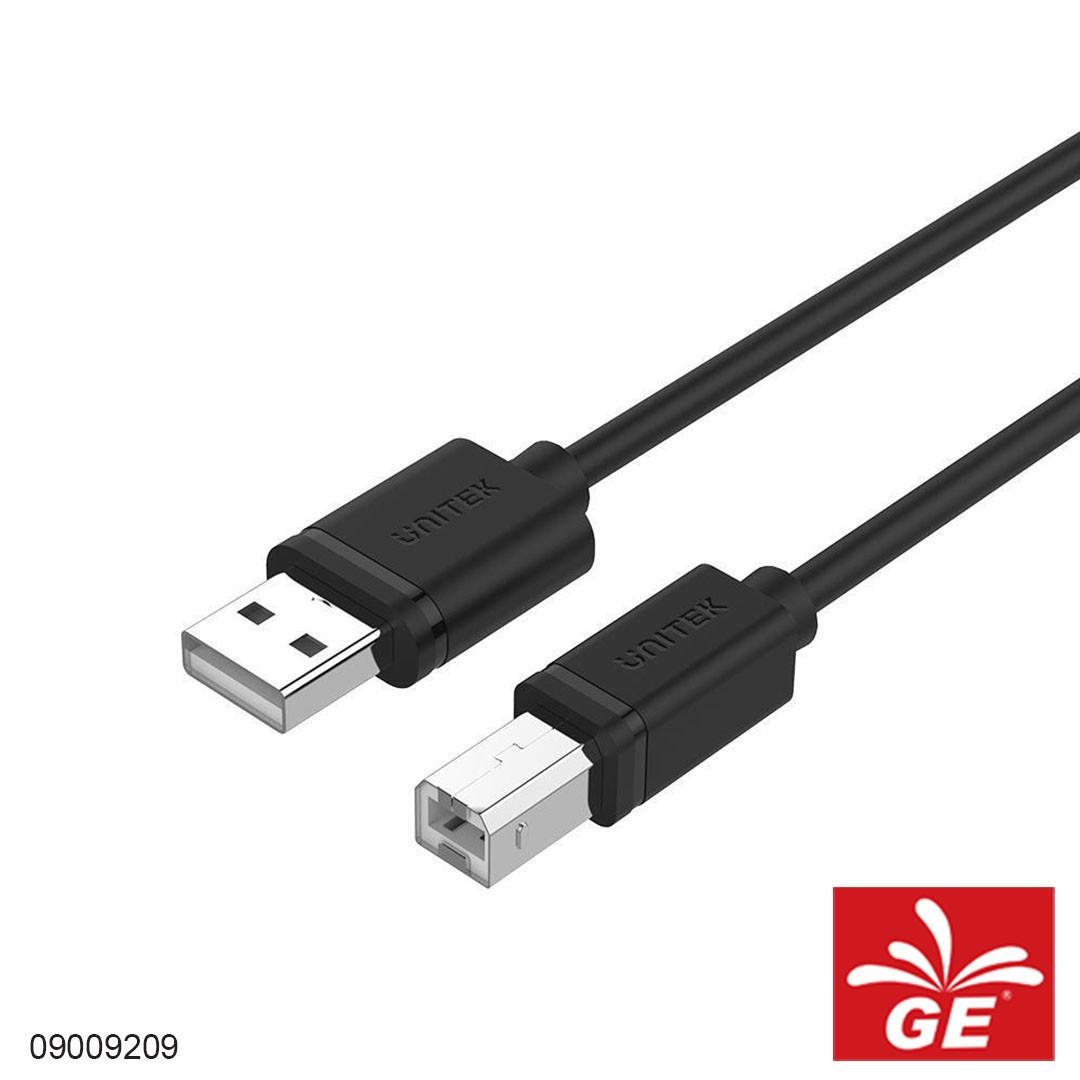 Kabel UNITEK Y-C420GBK USB2.0 A Male to B Male 3M 09009209