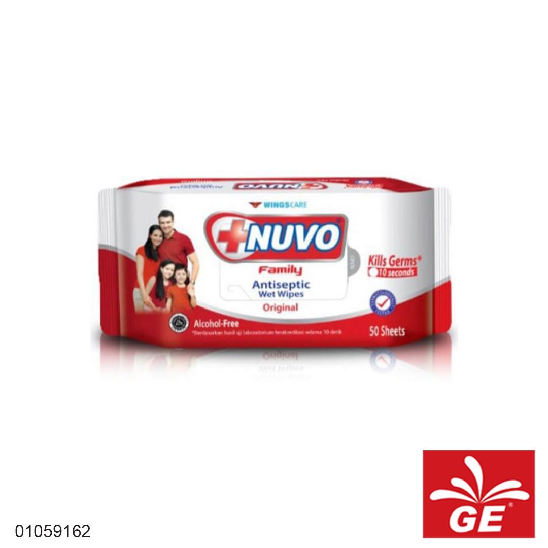 Tissue Basah NUVO Antiseptic Wet Wipes Original 01059162