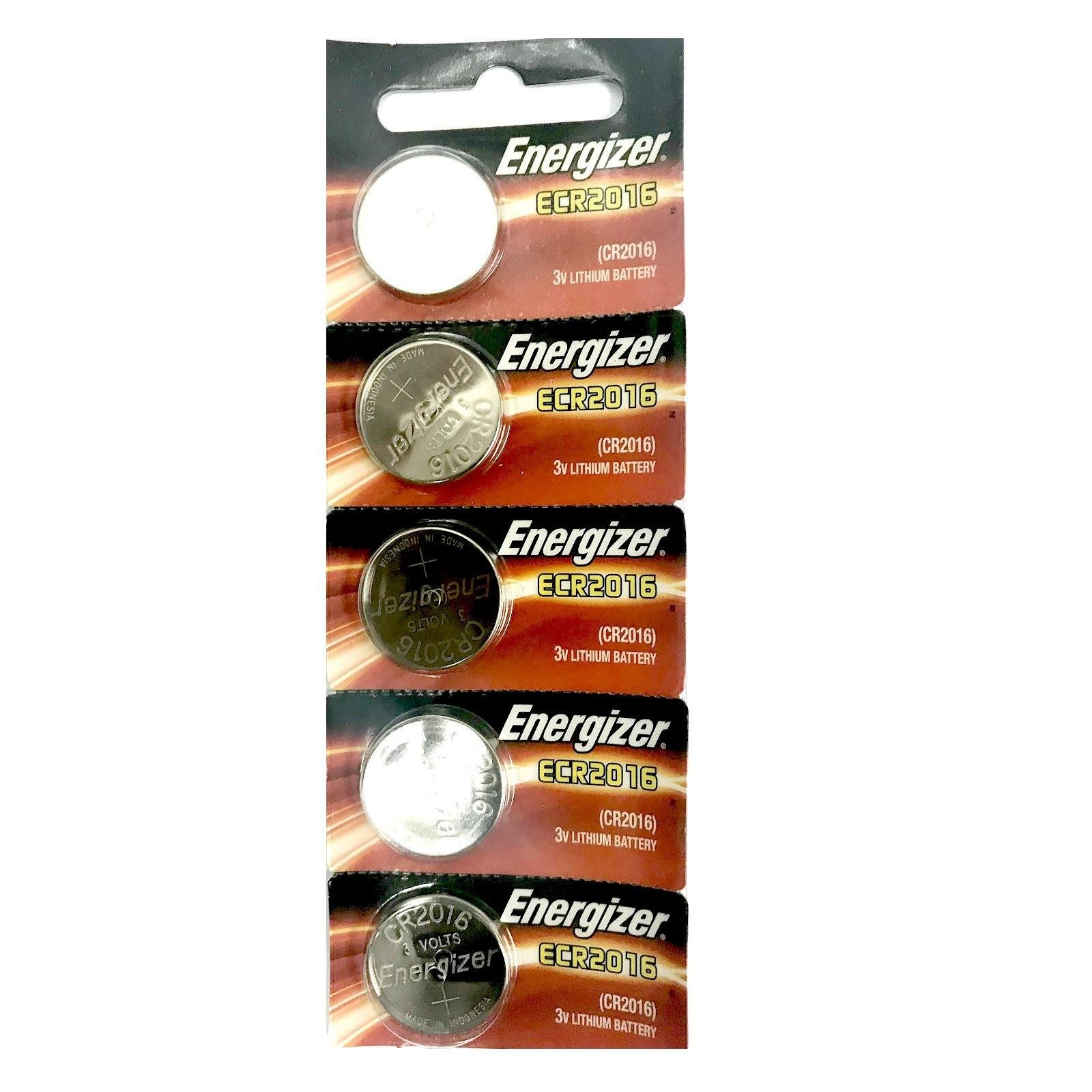 Baterai Coin ENERGIZER ECR2016 BP5 3V Lithium 1Pack 02049869