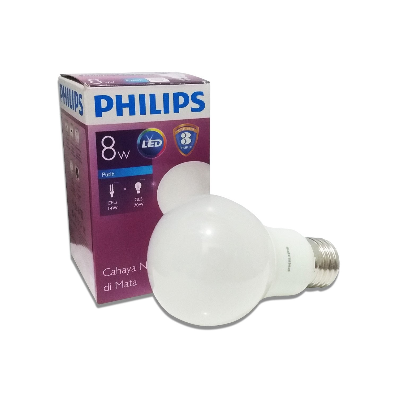Lampu Bohlam PHILIPS Bulb Cool Daylight 8W 24000129