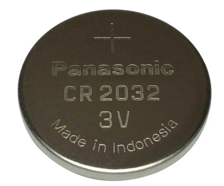 Baterai Coin PANASONIC CR2032 Lithium 3V 1 Pack 21000279