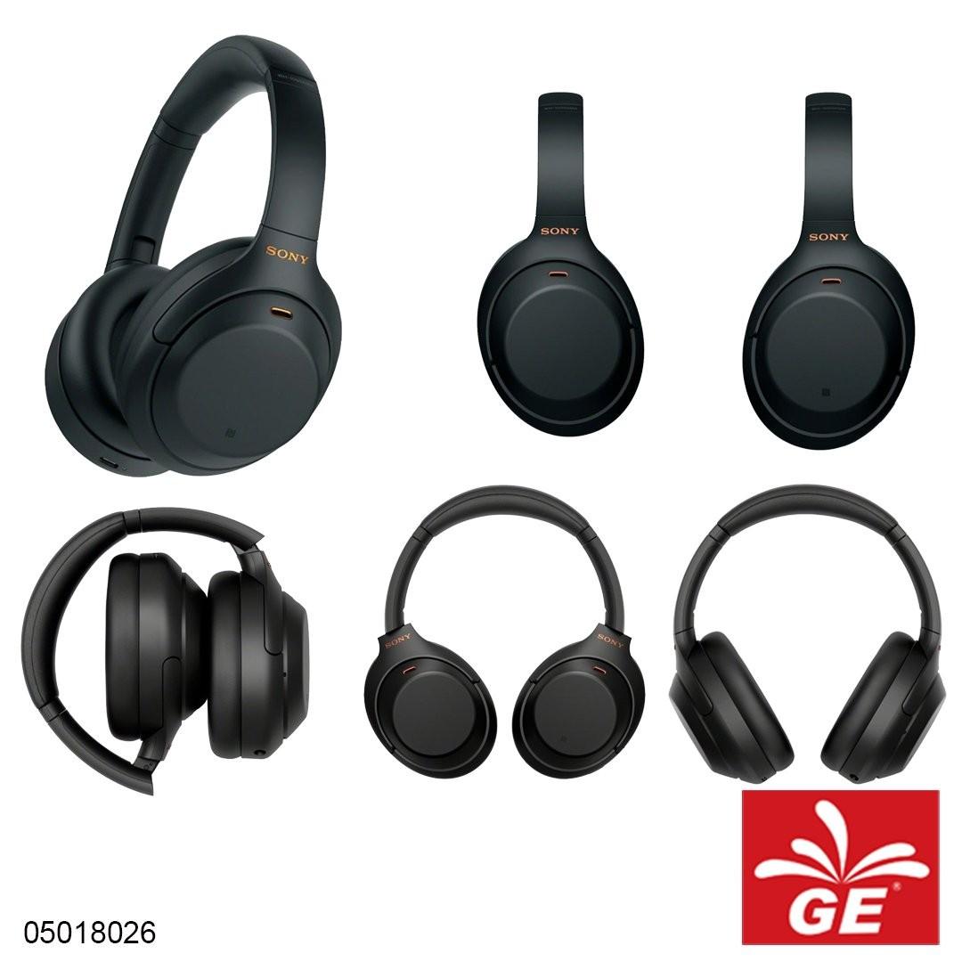 Headphone Wireless SONY WH-1000XM4 Hitam/Silver 05018026/27