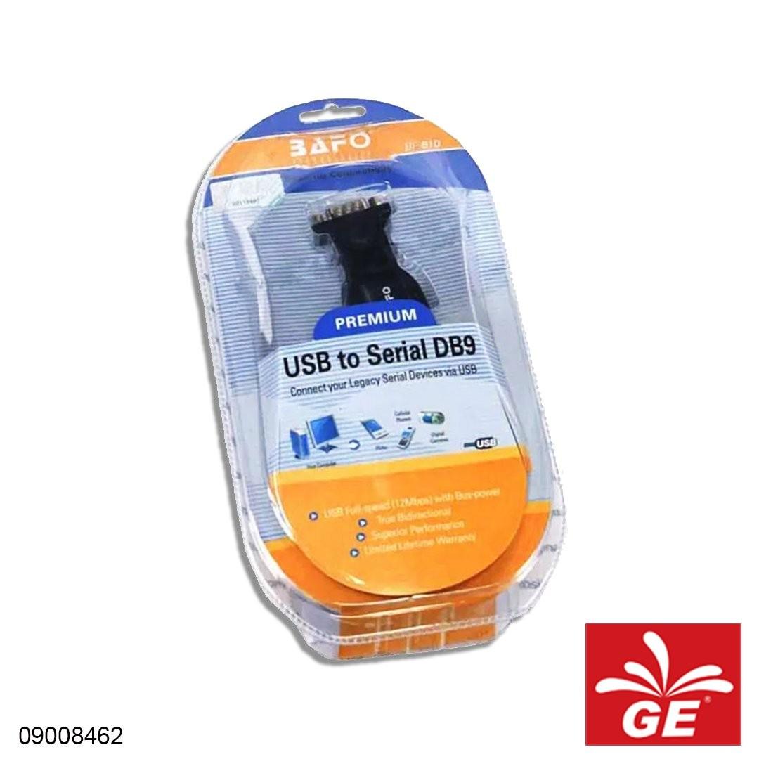 Kabel Koneksi BAFO BF-810 USB to Serial DB9 09008462