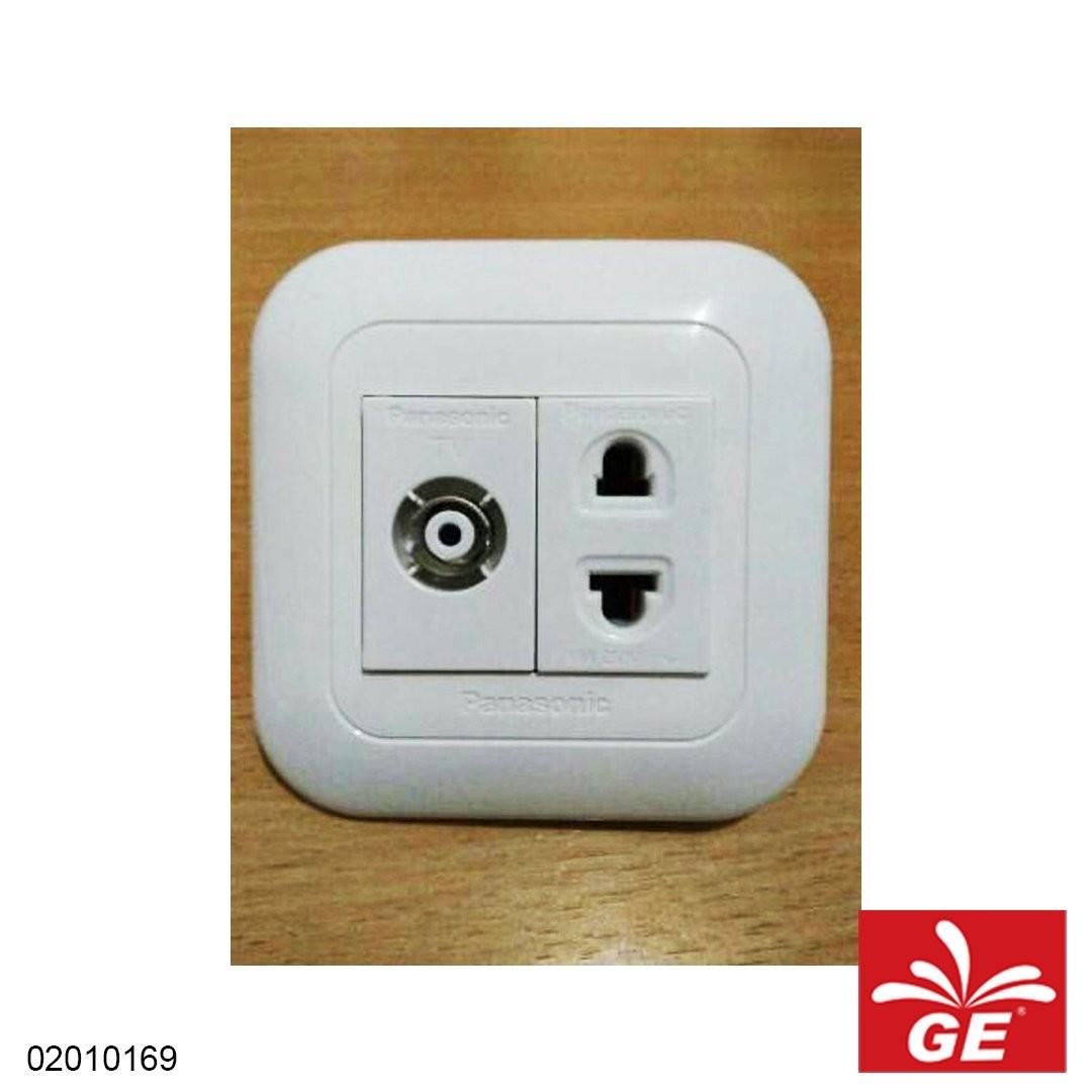 Stop Kontak PANASONIC Wide Series WEJ78029W+10919+2501 02010169