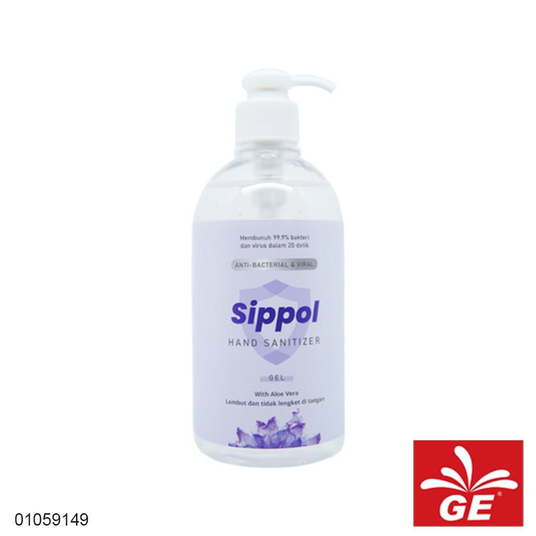 Hand Sanitizer SIPPOL Gel 500ml 01059149