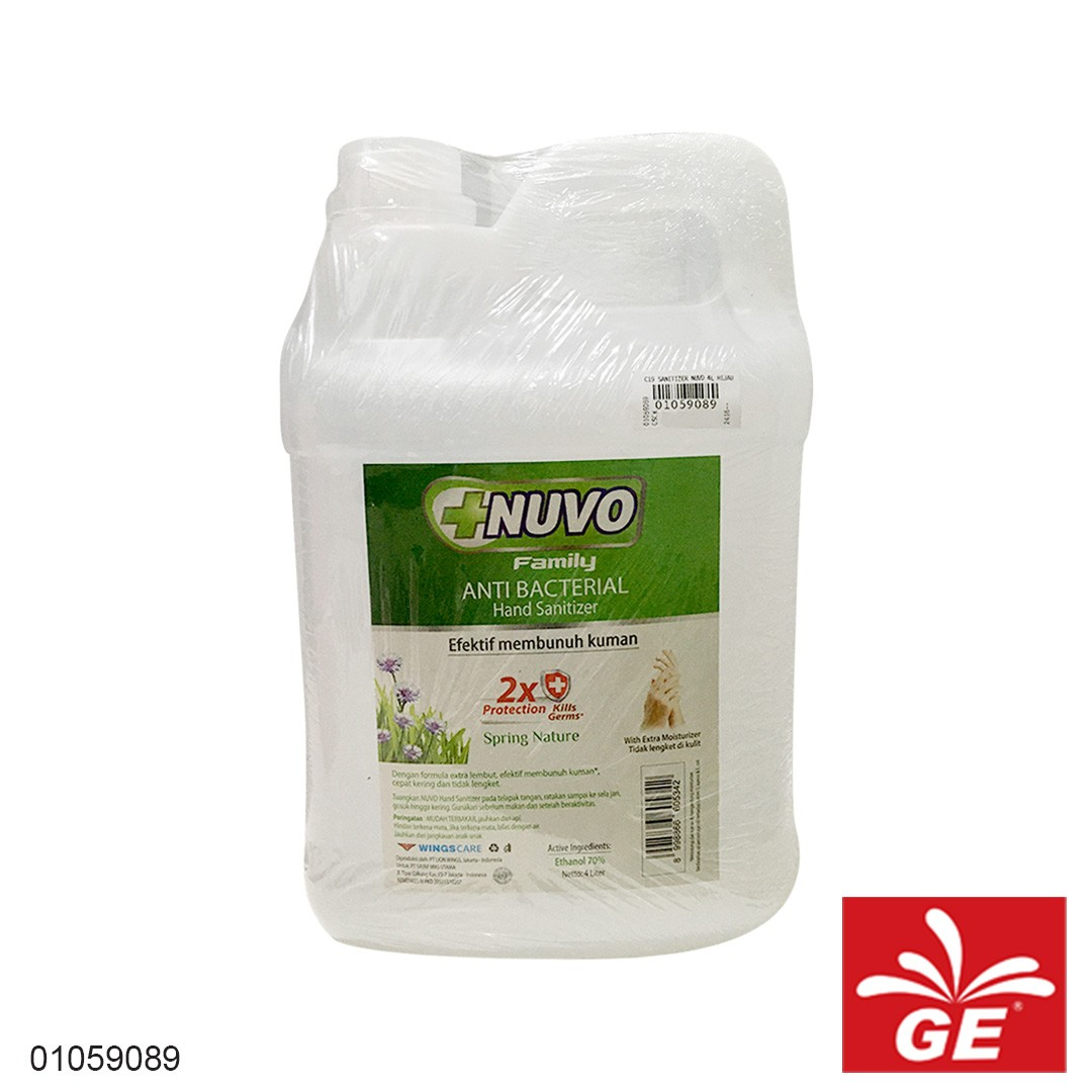 Hand Sanitizer NUVO Spring Nature 4L 01059089