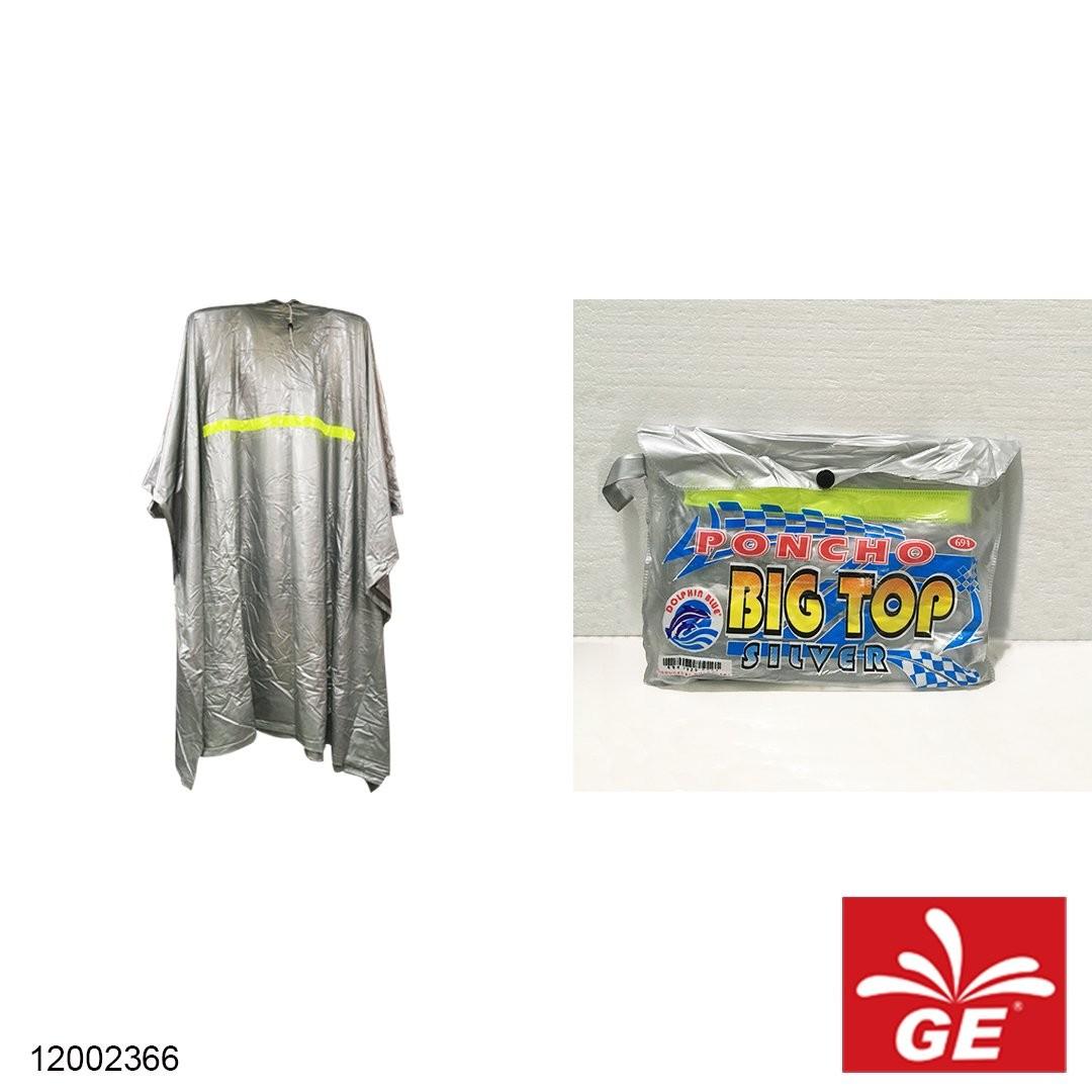 Jas Hujan DOLPHIN BLUE 694 Poncho Big Top All Size Dewasa