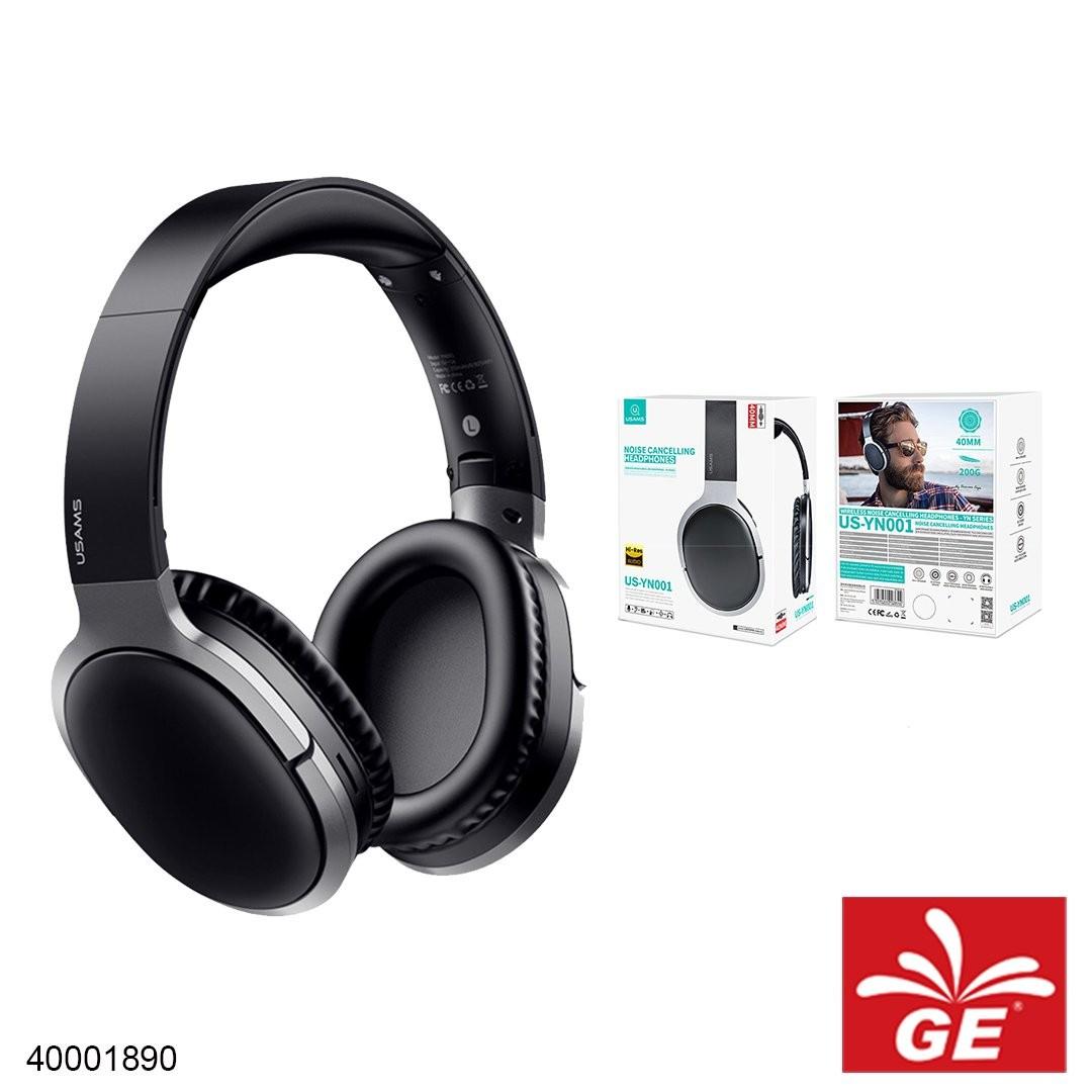 Headphone Wireless USAMS US-YN001  Noise Cancelling Headphones