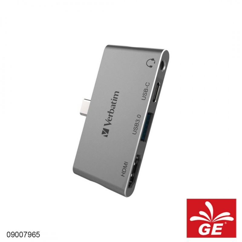 USB HUB VERBATIM 66347 Type-C 4in1 09007965