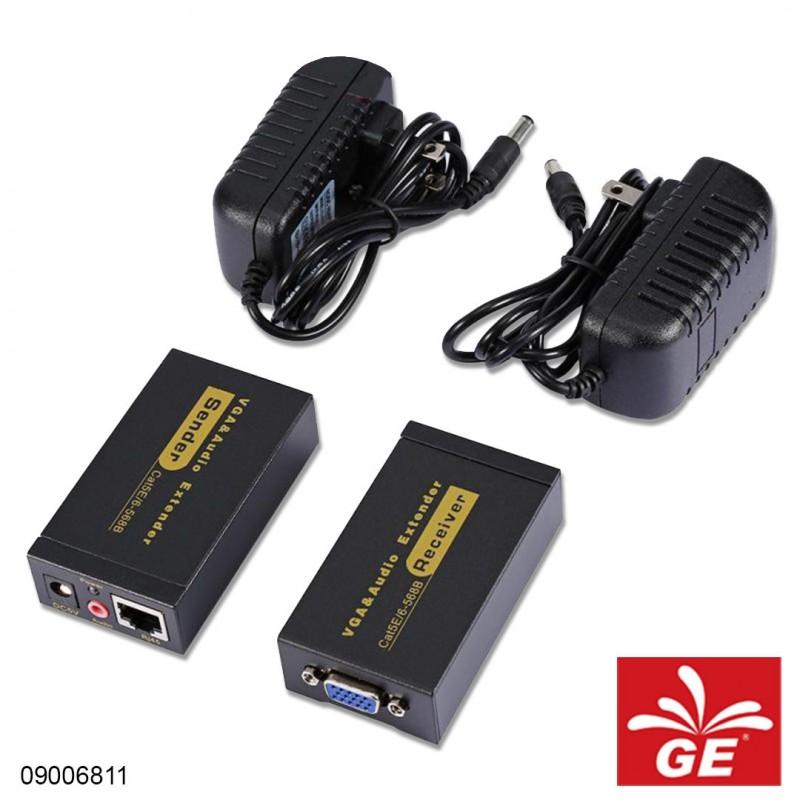 VGA & Audio Extender CAT5E/6-568B 09006811