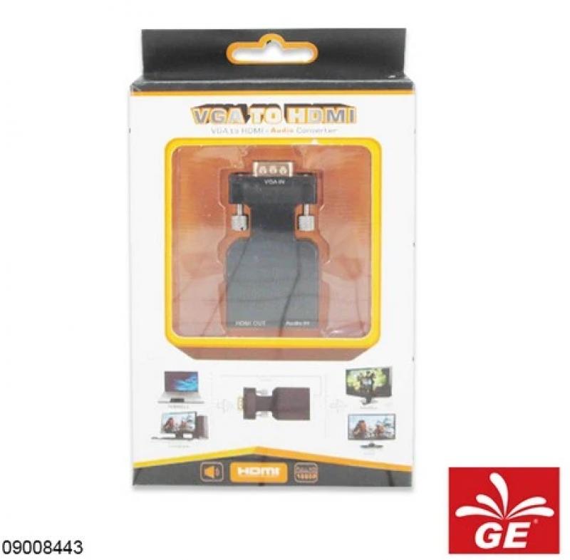 CONVERTER VGA TO HDMI + AUDIO 09008443