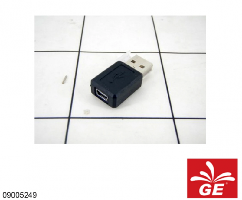 Adapter Converter USB 2.0 A Male to USB B Mini 5 Pin Female