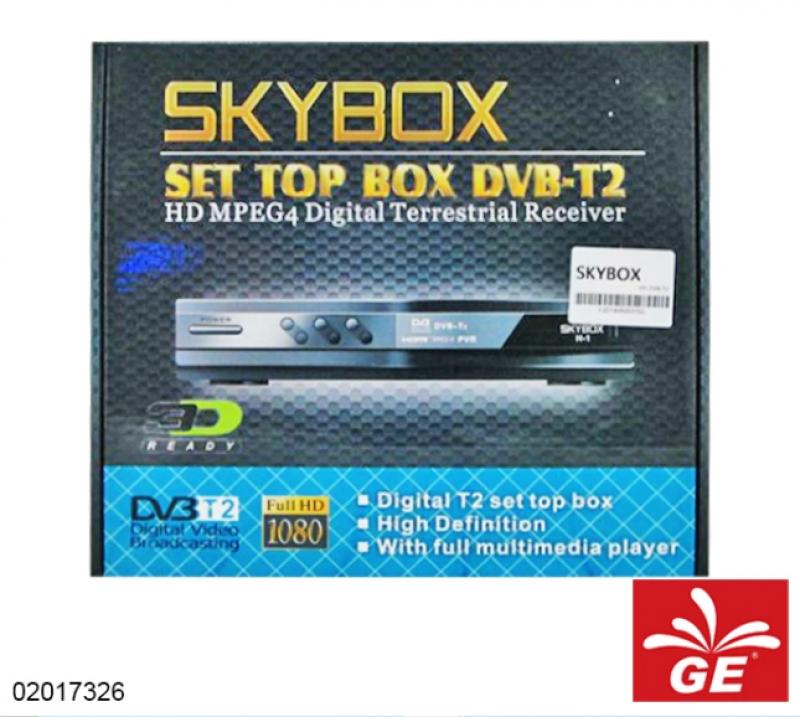 SET TOP BOX DVB-T2 SKYBOX 0 02017326