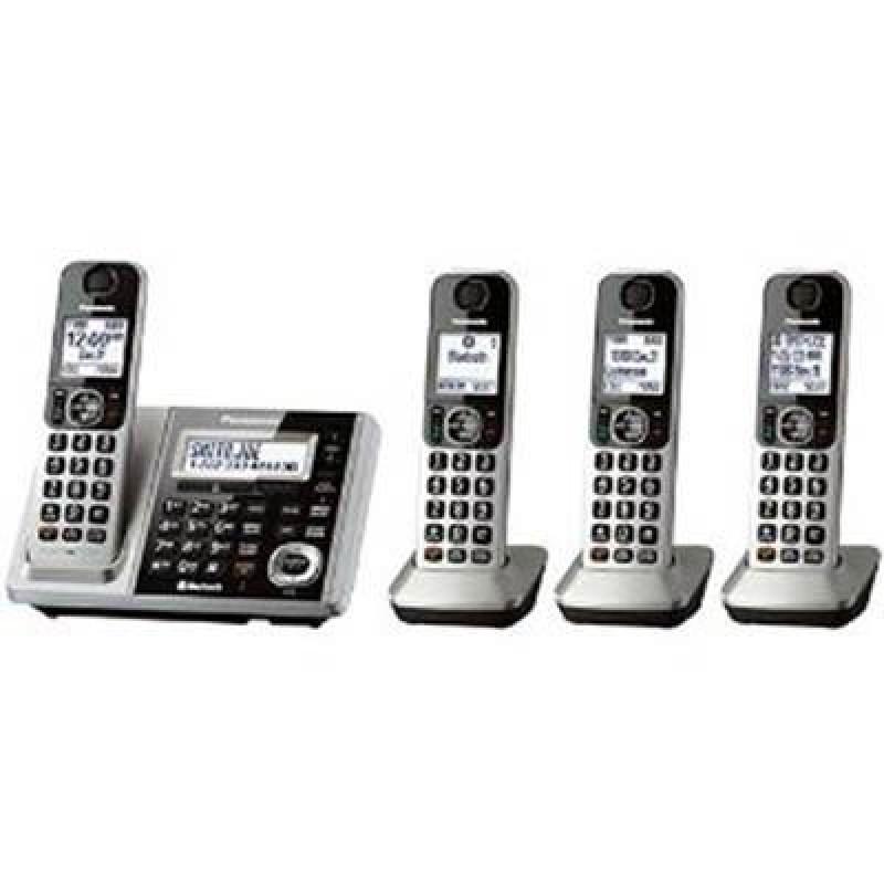 Panasonic Cordless KX-TGF374S DECT 4-Handset Landline Telephone