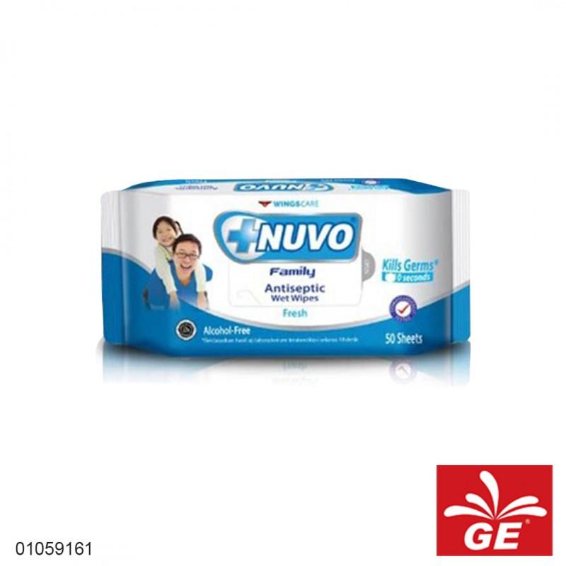 Tissue Basah NUVO Antiseptic Wet Wipes Fresh 01059161