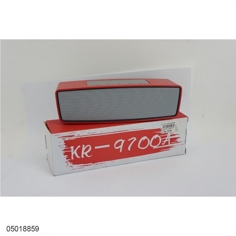 Speaker Mini Bluetooth KR9700A 05018859