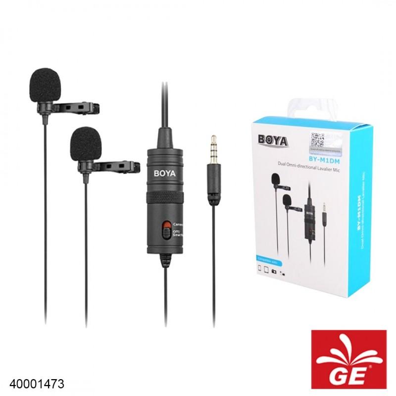 Mikrofon BOYA BY-M1DM Dual Omni-directional Lavalier Microphone