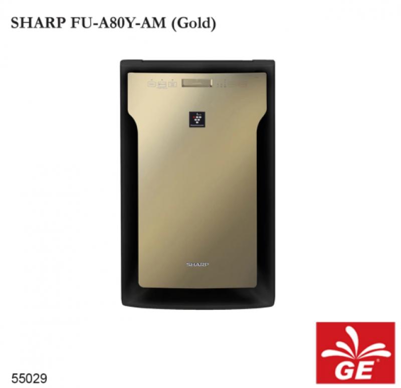 Air Purifier SHARP FU-A80Y-AM High Density 7000 Emas 55029