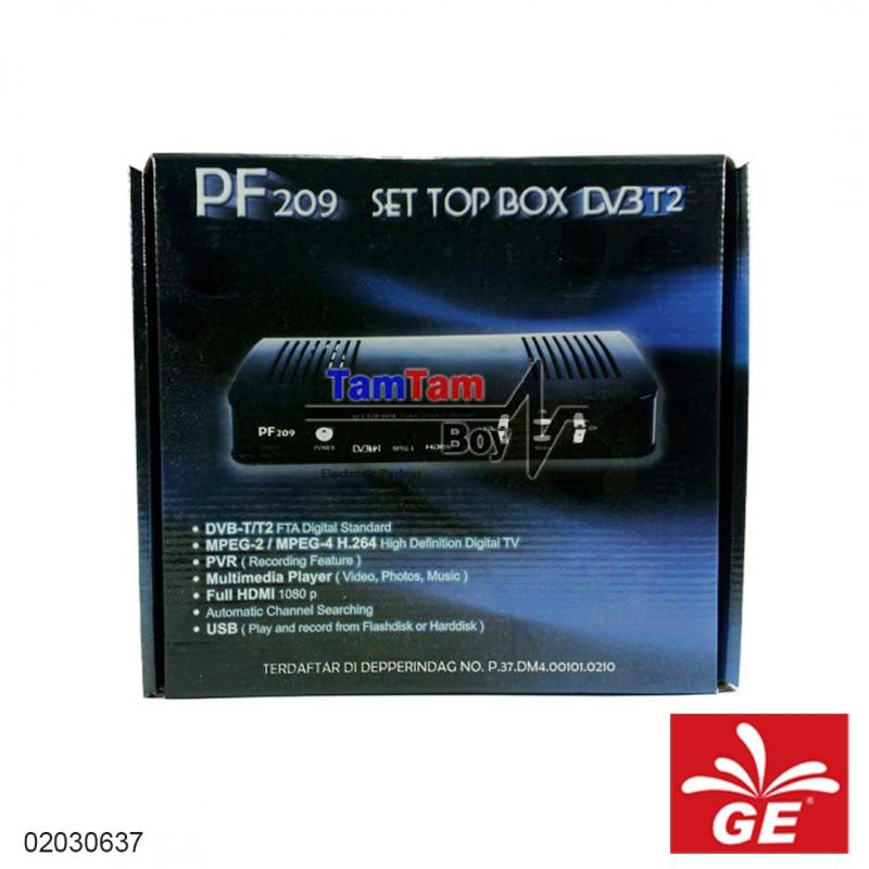 Set Top Box DVB-T2 Pf208 02030637