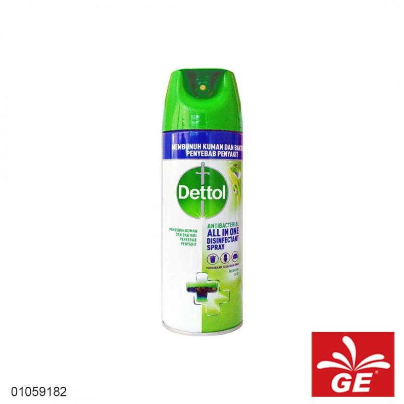 Disinfektan Spray DETTOL Anti Bacterial MorningDew 225ml 01059182