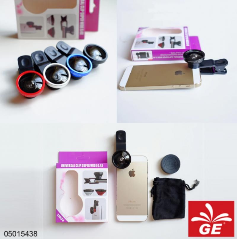 Fish Eye Lensa Universal Clip Superwide 0.4X U0040 5015438