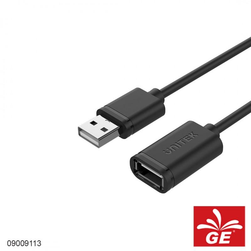 Kabel UNITEK Y-C417GBK USB2.0 A Male to A Female 3M 09009113