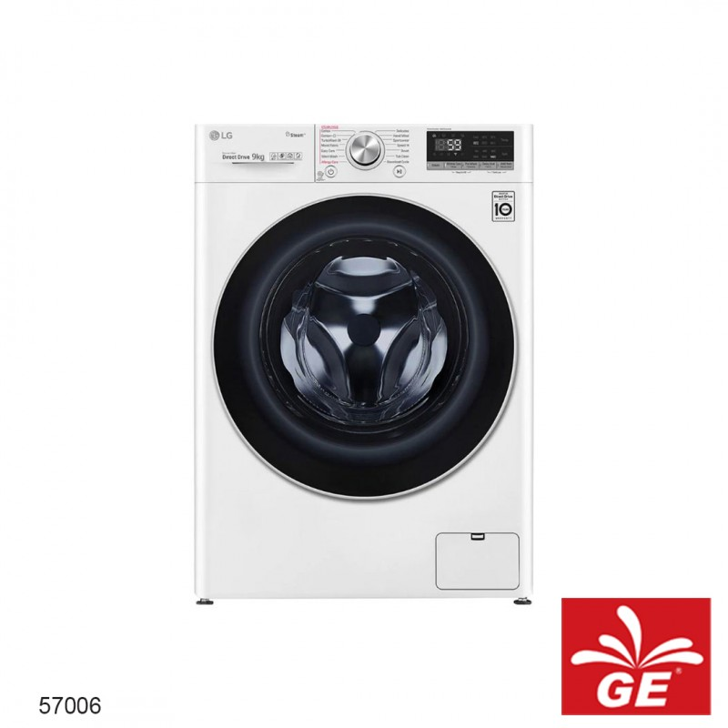 Mesin Cuci LG FV1409S4W 1 Tabung 9 Kg 57006
