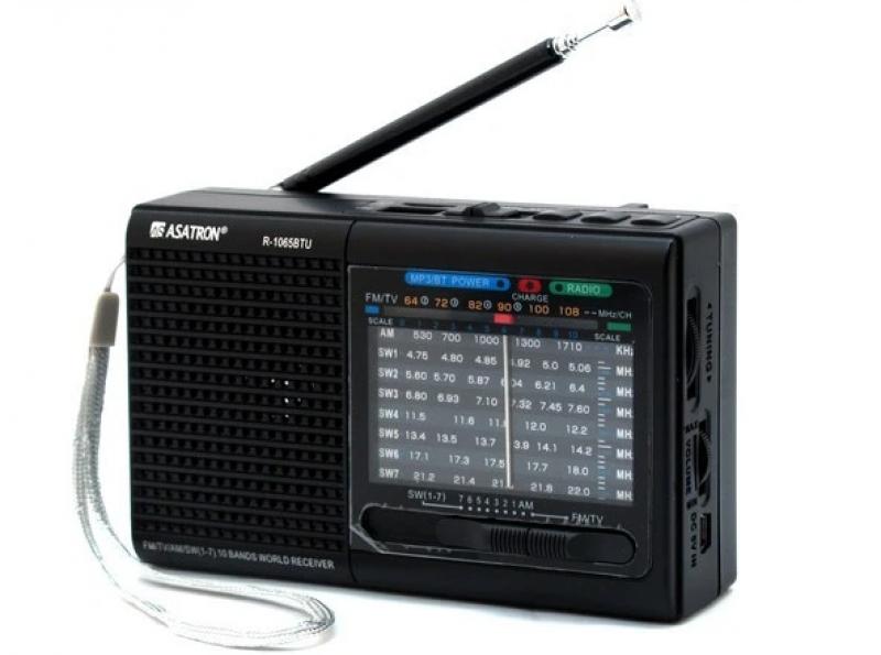 Asatron R-1065BTU USB/bluetooth 10 band 05018180