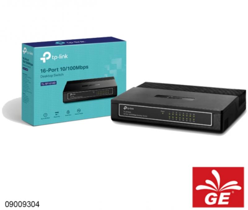 Desktop Switch TP-LINK TL-SF1016D 16-Port 10/100Mbps 09009304