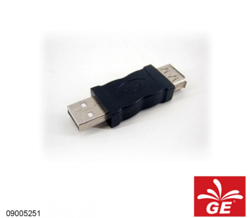 Adapter Connector USB A Male to A Female 09005251