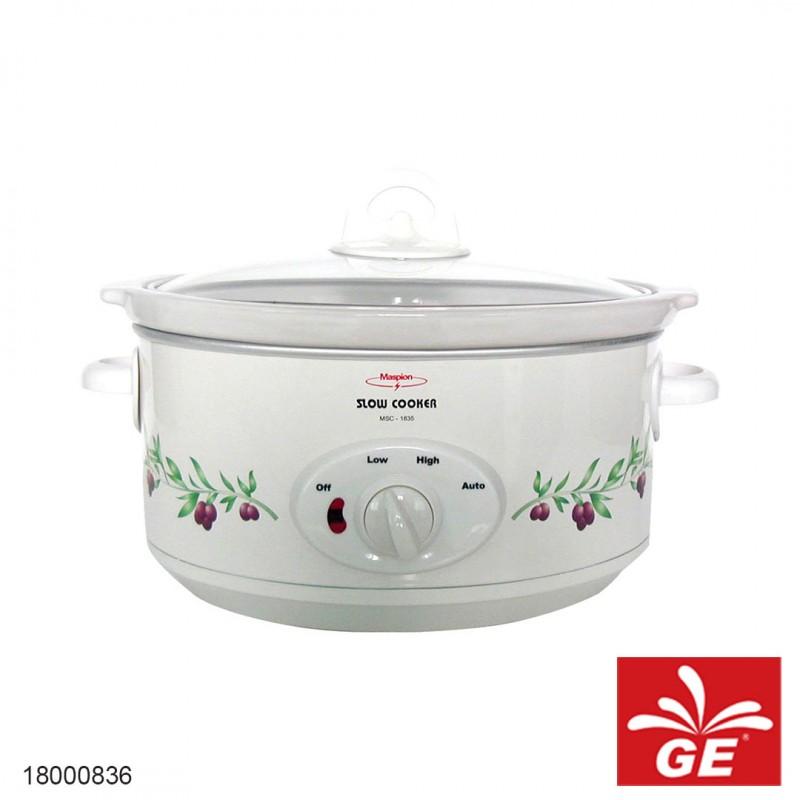 Slow Cooker MASPION MSC-1835 18000836