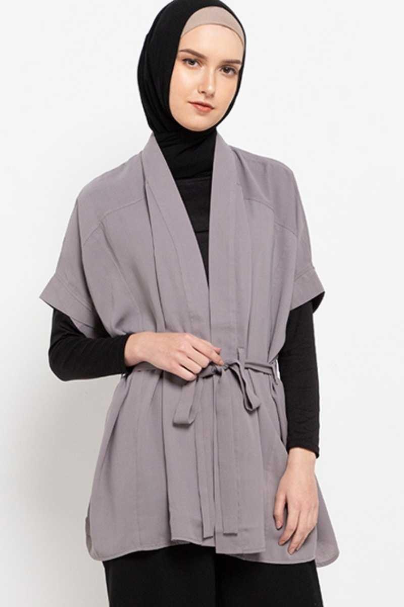 Tusca Shirt Plain  S.grey 0597