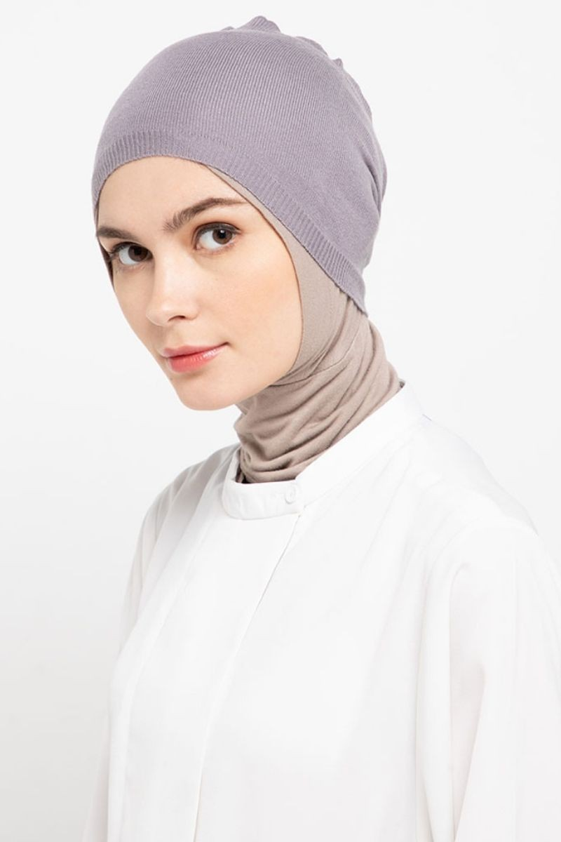 Headband Knitting Medium Gey Nw