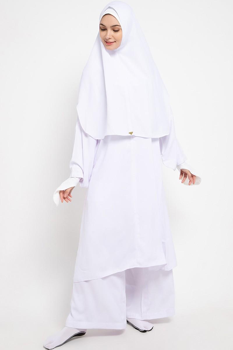 Askha Tunic Set Epaulette White