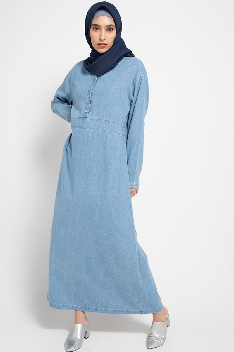 Rowan Dress Denim 0717